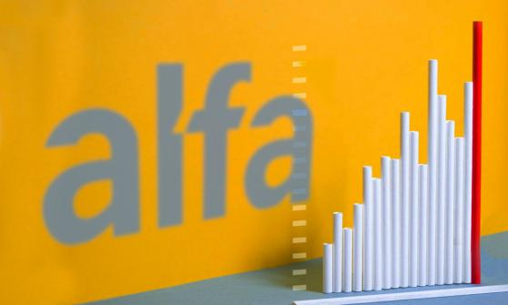 Alfa eleva su flujo 63% en el segundo trimestre impulsada por Alpek